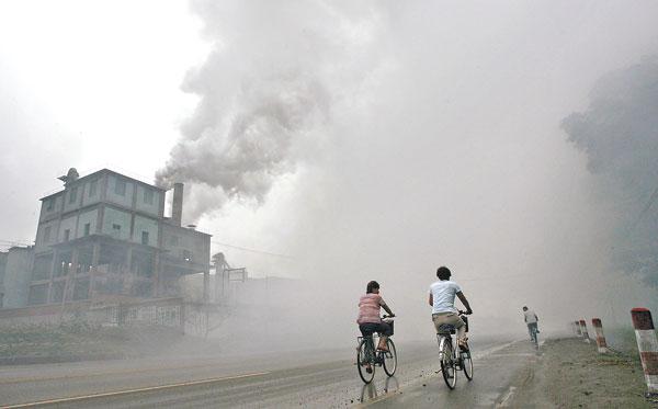 大陸空氣汙染